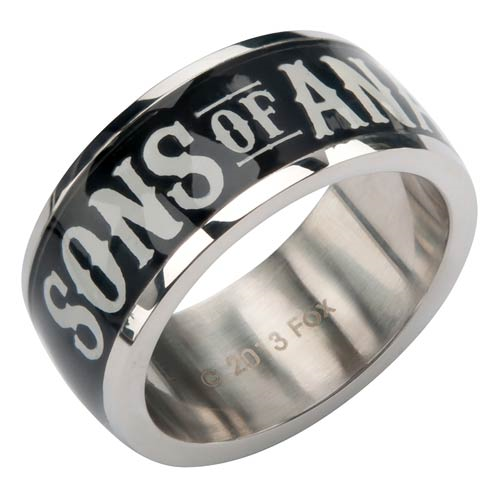 Sons of Anarchy Black Ring