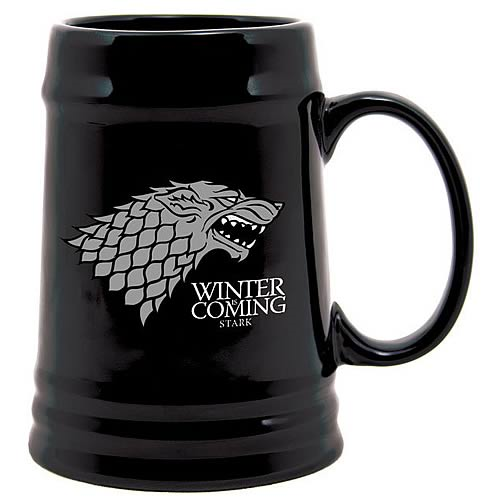 Game of Thrones Stark Sigil Ceramic Stein