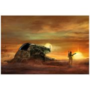 Star Wars Suns Set by Cliff Cramp Canvas Giclee Art Print