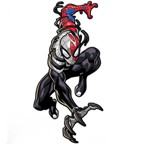 Spider-Man Maximum Venom Venomized Spider-Man FiGPiN Classic Enamel Pin