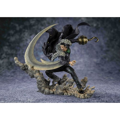 One Piece Sir Crocodile Paramount War Extra Battle FiguartsZERO Statue
