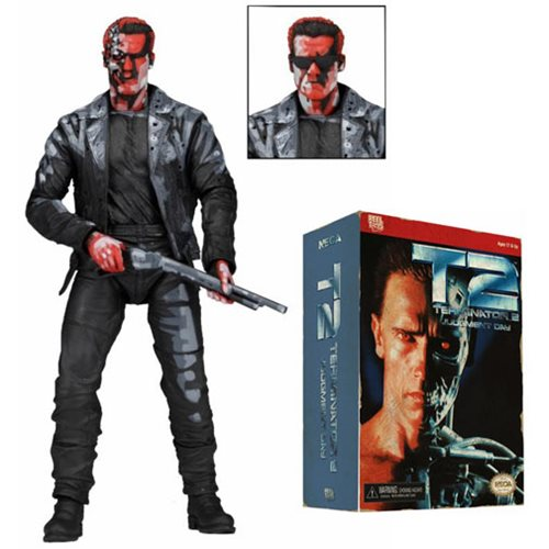 Terminator 2 T-800 Video Game 7-Inch Action Figure