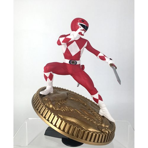 Mighty Morphin Power Rangers Red Ranger 1:8 Scale Statue