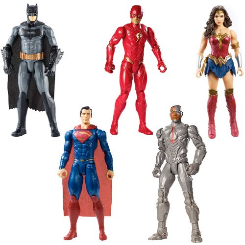 Justice League Movie Basic 12-Inch Wave 2 Action Figure Case