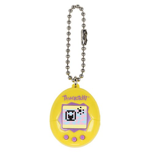 Tamagotchi Chibi Series 4 Yellow and Purple Digital Pet