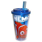 Finding Nemo Blue 16 oz. Flip-Straw Plastic Travel Cup