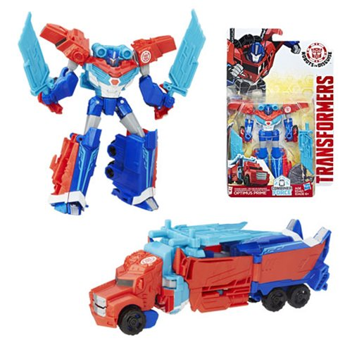 Transformers Robots in Disguise Combiner Force Warrior Class Power Surge Optimus Prime