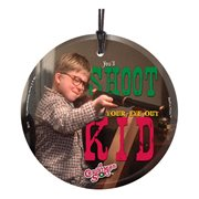 A Christmas Story Shoot Your Eye Out StarFire Prints Hanging Glass Ornament