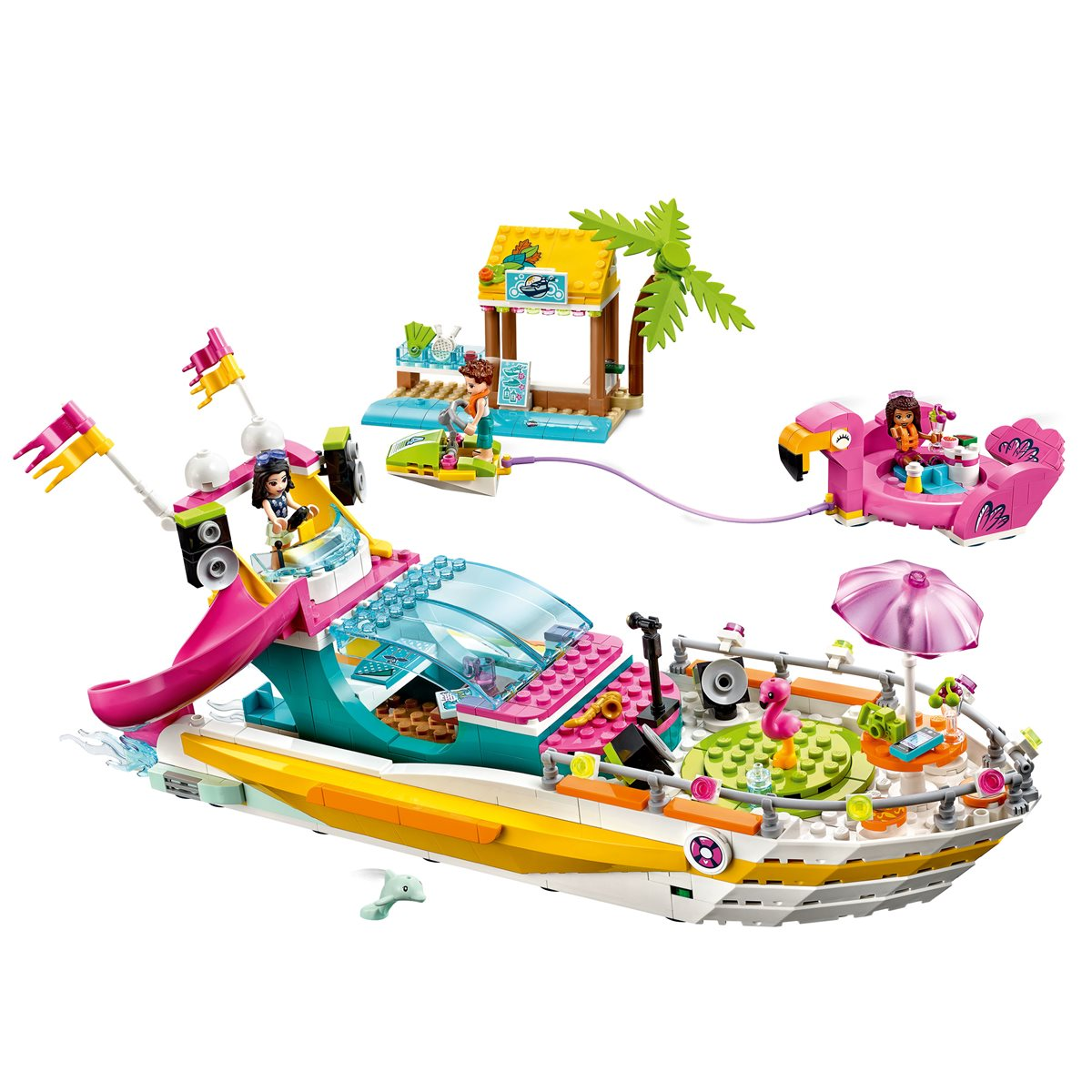 LEGO 41433 Friends Party Boat - Entertainment Earth