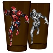 Spider-Man Armor Pint Glass