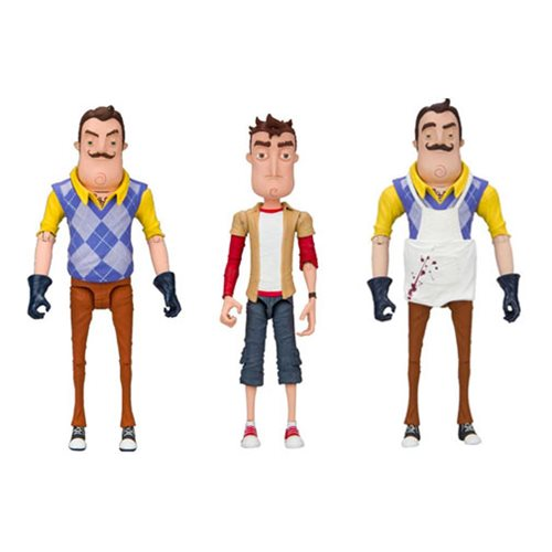 Hello Neighbor Series 1 Action Figure Case