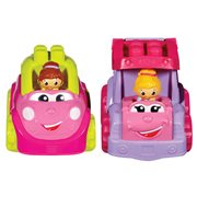 Mega Bloks First Builders Lil' Vehicles Pink Vehicle Case