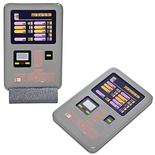 Star Trek TNG and DS9 Small Padd Prop Replica