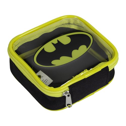 Batman Logo Square Zipper Pouch