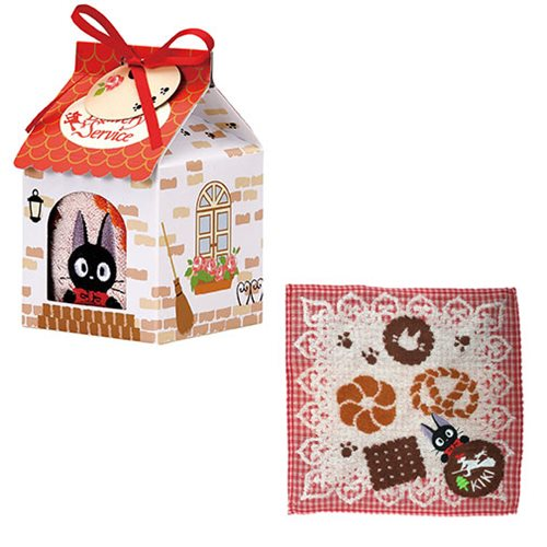 Kikis Delivery Service Jiji Mini Towel In House Shaped Gift Box