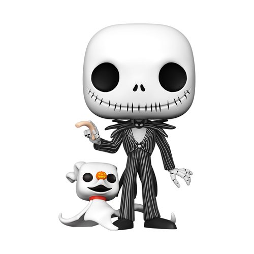 The Nightmare Before Christmas Jack Skellington with Zero 10-Inch Pop! Vinyl Figure
