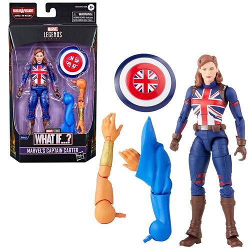 Marvel Legends What If? Captain Carter 6-Inch Action Figure