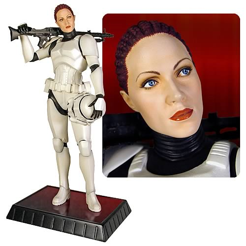 Star Wars Female Stormtrooper Jes Gistang Statue