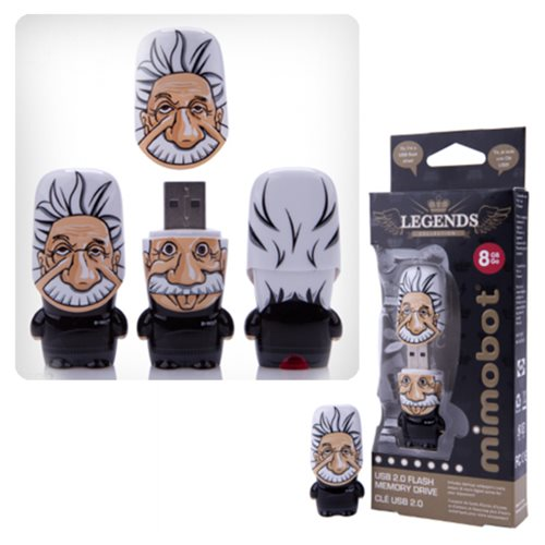 Albert Einstein Mimobot USB Flash Drive