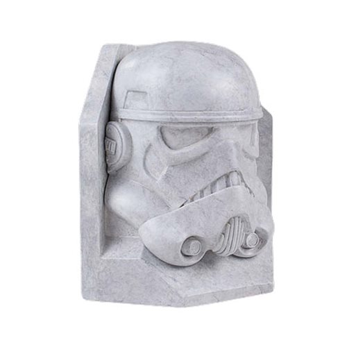 Star Wars Stormtrooper STONEWORKS Faux-Marble Bookend