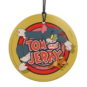 Tom and Jerry Logo StarFire Prints Hanging Glass Print
