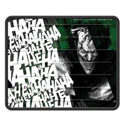 Batman Joker Laughs Plasticlear Utility Mat