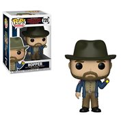 Stranger Things Hopper with Flashlight Pop! Vinyl Figure #720