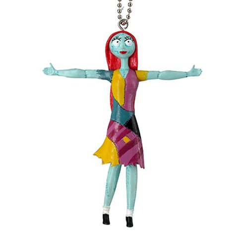 Nightmare Before Christmas Sally Bendable Figure Key Chain