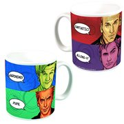 Doctor Who Doctor's Catchphrases Mug - Previews Exclusive