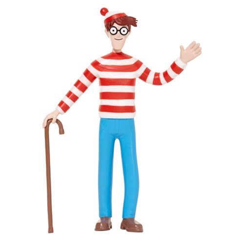 Where's Waldo? 6-Inch Bendable Action Figure