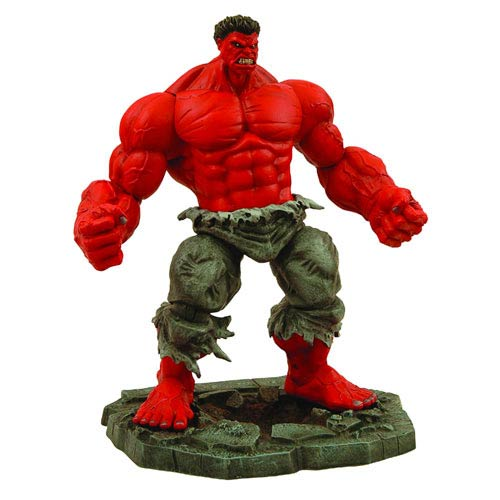 Marvel Diamond Select Red Hulk Action Figure, Not Mint