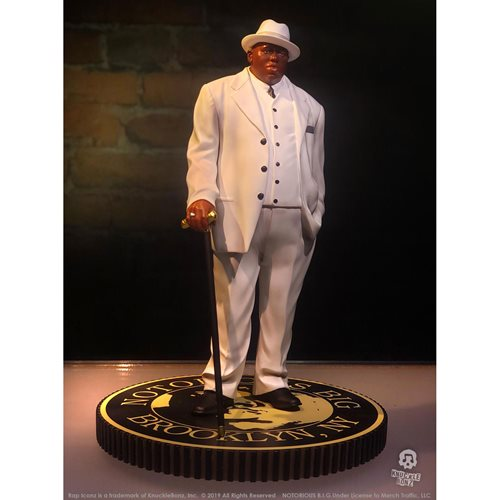 Rap Iconz Notorious B.I.G. Biggie Smalls Limited Edition Statue