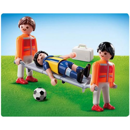 Playmobil 9826 Paramedics with Soccer Player