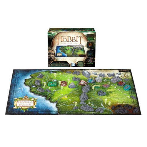 The Hobbit Middle Earth 4D Cityscape Puzzle
