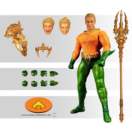 IN STOCK MEZCO ONE:12 DC Comics Aquaman MIB!!