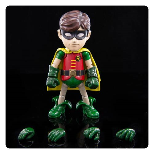 Batman Classic 1966 TV Series Robin Hybrid Metal Figuration Action Figure