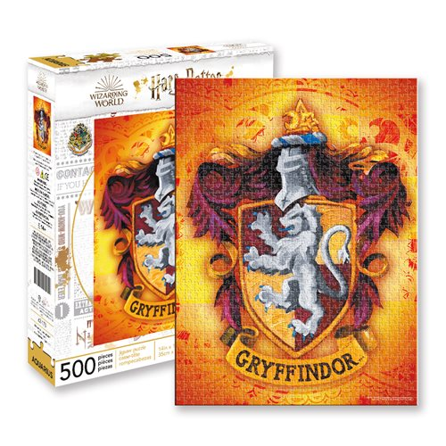 Harry Potter Gryffindor Logo 500-Piece Puzzle