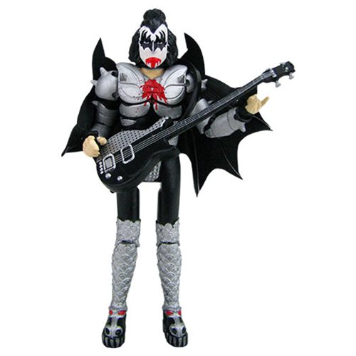 KISS Destroyer 3 3/4-Inch Action Figure Deluxe Box Set - Convention Exclusive