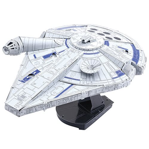 Star Wars Solo Millenium Falcon Metal Earth Iconx Model Kit