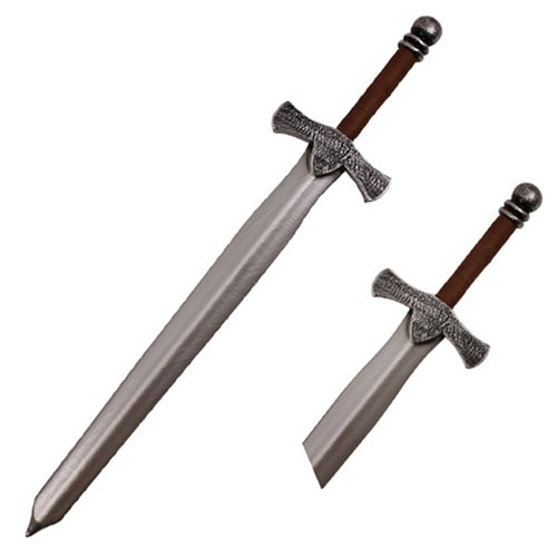Hero's Edge Brown Handle Foam Sword
