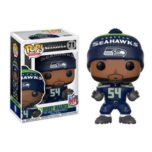 Nfl Bobby Wagner Seahawks Home Wave 4 Pop Vinyl Figure 71