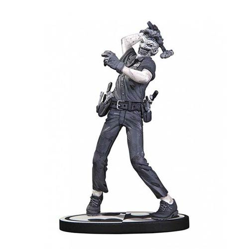 Batman Black and White The Joker by Greg Capullo Statue
