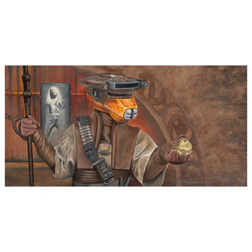 Star Wars: Episode VI - Return of the Jedi Infiltrator Canvas Giclee Print