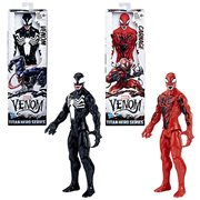 Venom Titan Hero Series Action Figure Wave 1 Set