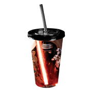 Star Wars: Episode VII - The Force Awakens All Characters Poster 16 oz. Travel Cup