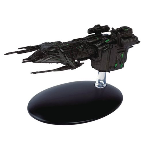 Star Trek Starships Assimilated Arctic One Die-Cast Vehicle with Collector Magazine #99