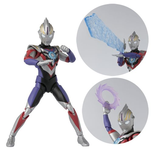 Ultraman Orb Spacium Zeperion SH Figuarts Action Figure