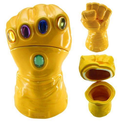 Marvel Infinity Gauntlet Cookie Jar - Previews Exclusive