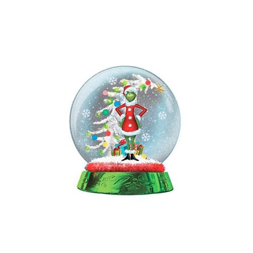 The Grinch and Tree LED Snow Globe