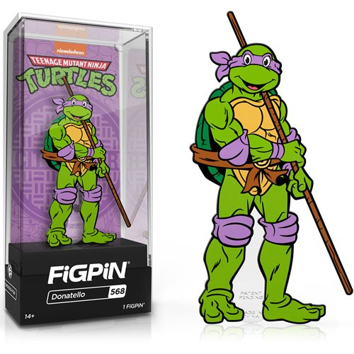 Teenage Mutant Ninja Turtles Donatello FiGPiN Classic Enamel Pin